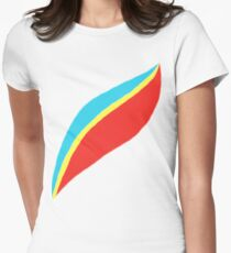 Captain EO (brighter) Women's Fitted T-Shirt