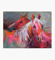 Contemporary Horses Svetlana Novikova Painting Photographic Print