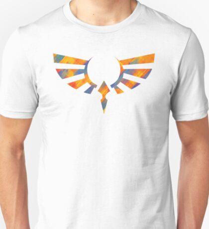 Hylian Crest Paint Orange T-Shirt