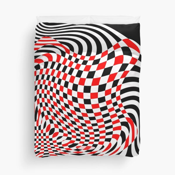 OpArt Abstract Duvet Cover