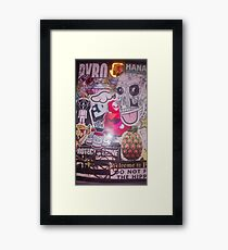 Ur brain on drugs Framed Print