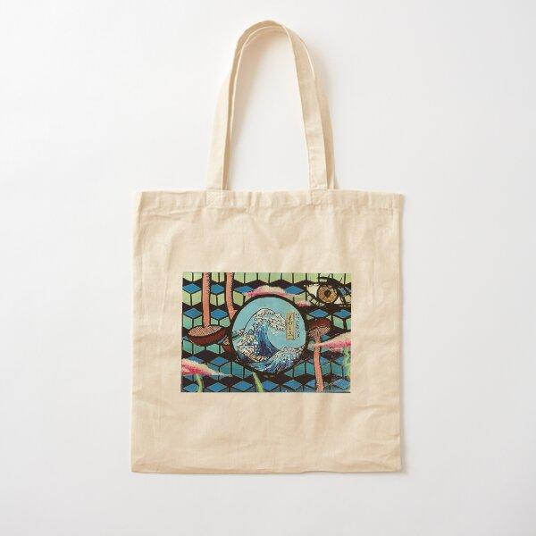 The decent wave Cotton Tote Bag
