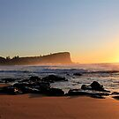 Sunrise Avalon BEACH Sydney Australia by Andrew  MCKENZIE