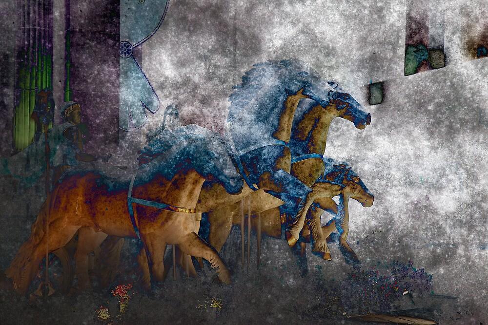 A Dream of Blue Horses by Richard Earl
