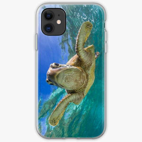 Sweet turtle iPhone Soft Case
