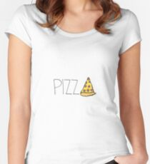 pizza Women's Fitted Scoop T-Shirt