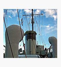 01 Deck Midships Photographic Print