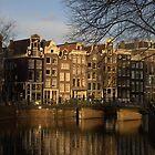 Canals of Amsterdam by Henk van Kampen