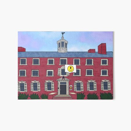 Demarest Hall Art Board Print