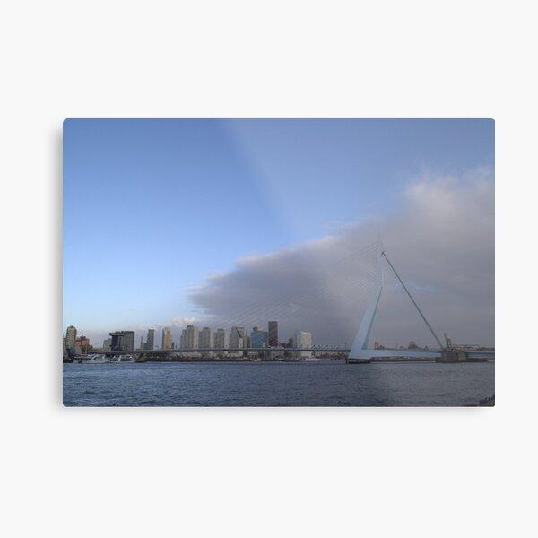 Rotterdam skyline Metal Print