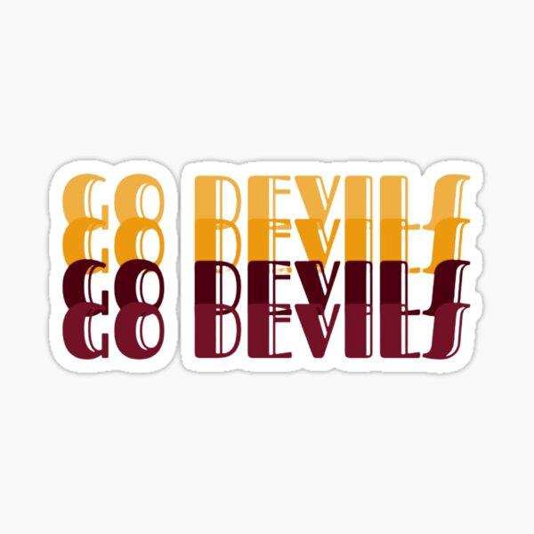 Go Devils Sticker