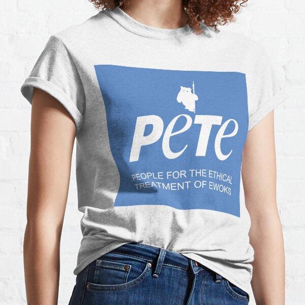 Star Wars PETA Parody (with text) Classic T-Shirt