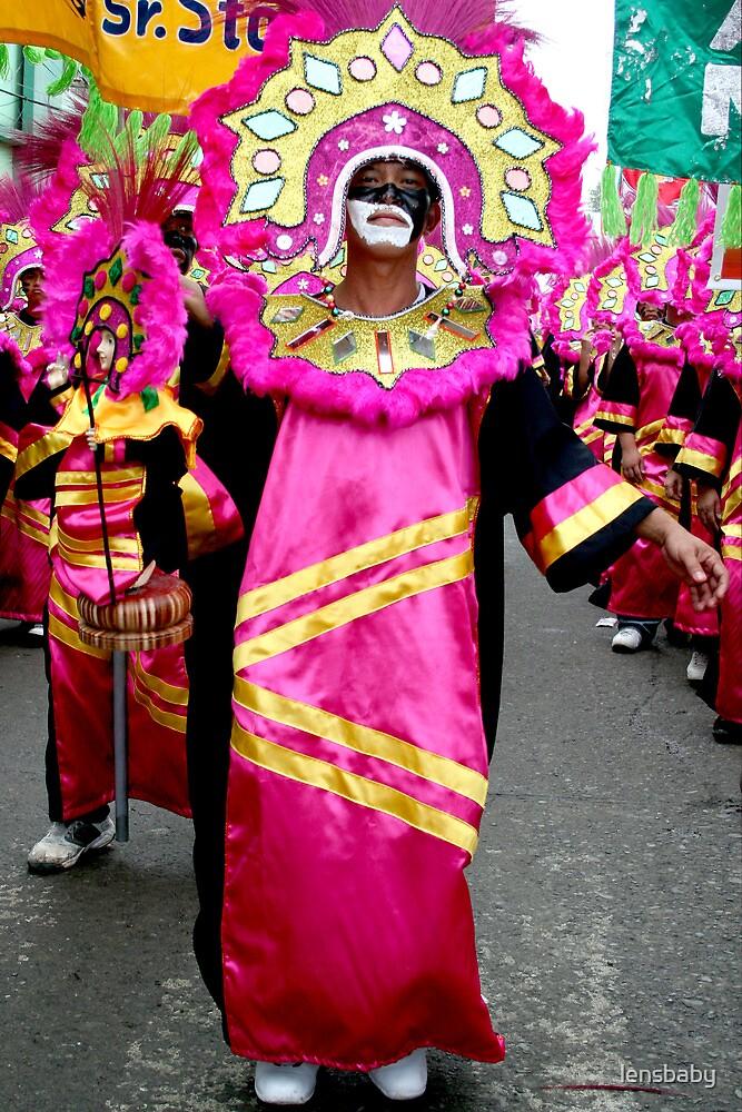 mardi-gras dancer by lensbaby