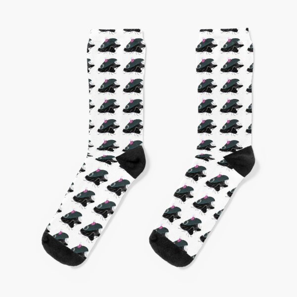 Black Abalone Socks