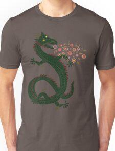 Dragon, Flower Breathing Unisex T-Shirt