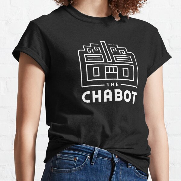 The Chabot (Logo white line art on black or multi-color) Classic T-Shirt