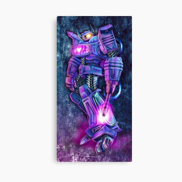 cyberpunk shockwave : Canvas Print