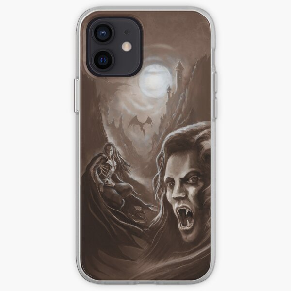 Descent of the Vampires iPhone Soft Case