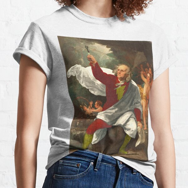 Ben Franklin Shazam Classic T-Shirt