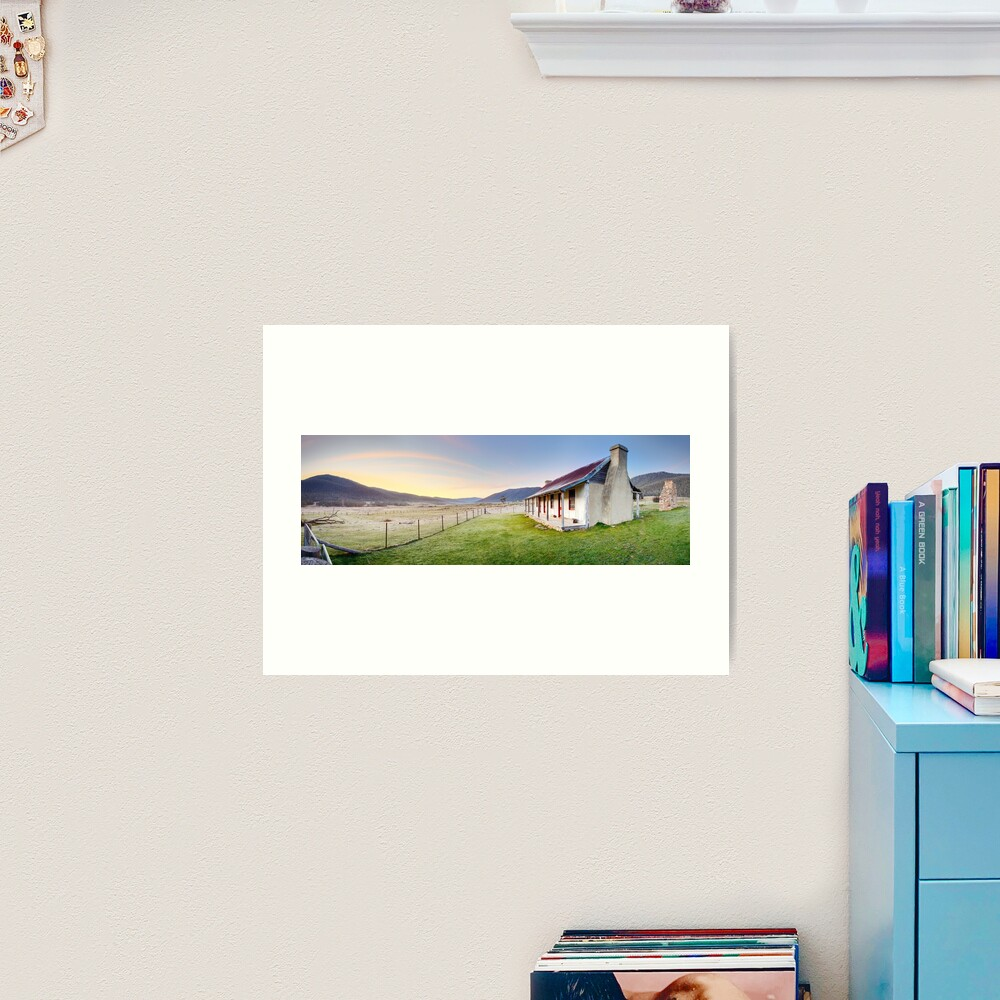 Orroral Homestead, Namadgi National Park, ACT, Australia Art Print