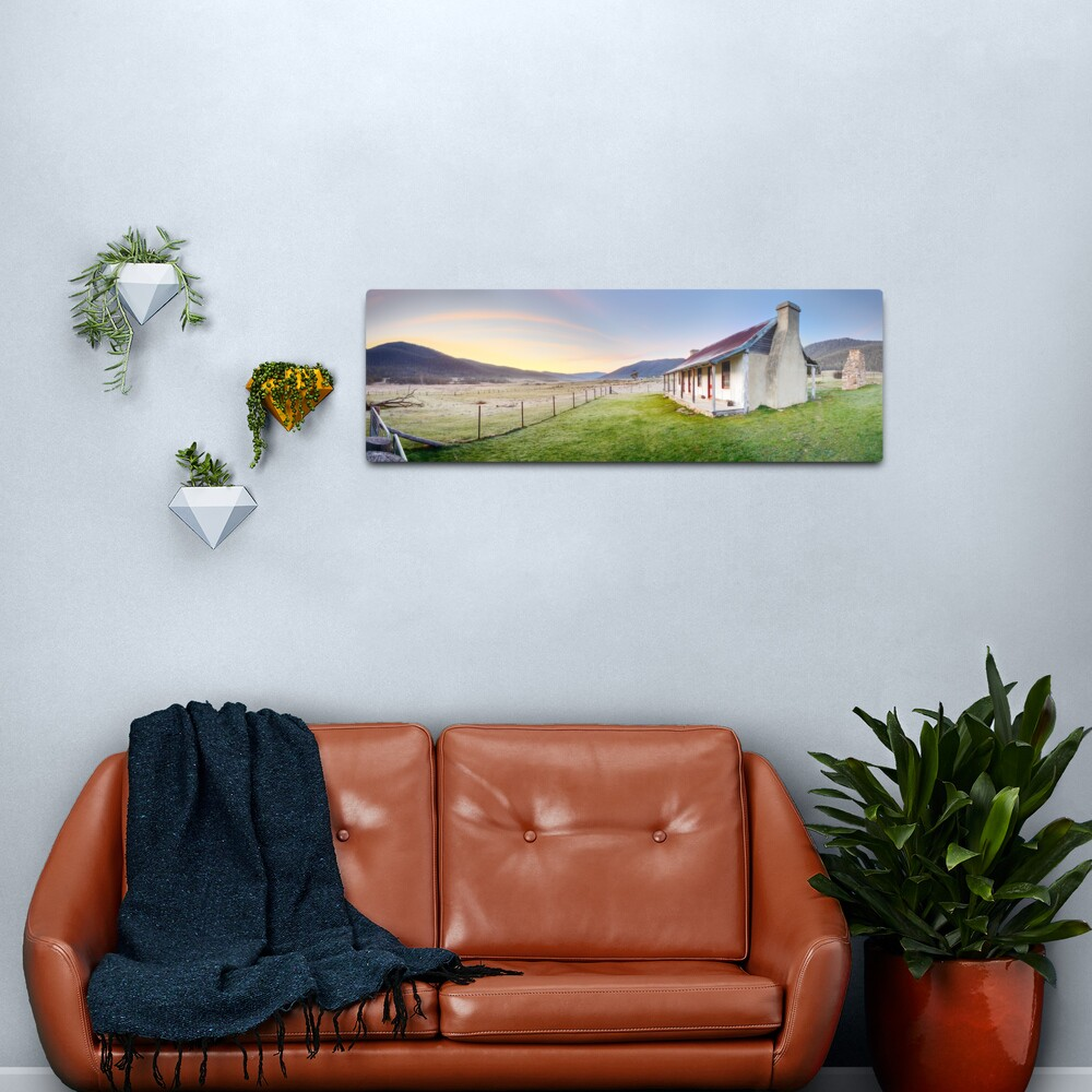 Orroral Homestead, Namadgi National Park, ACT, Australia Metal Print