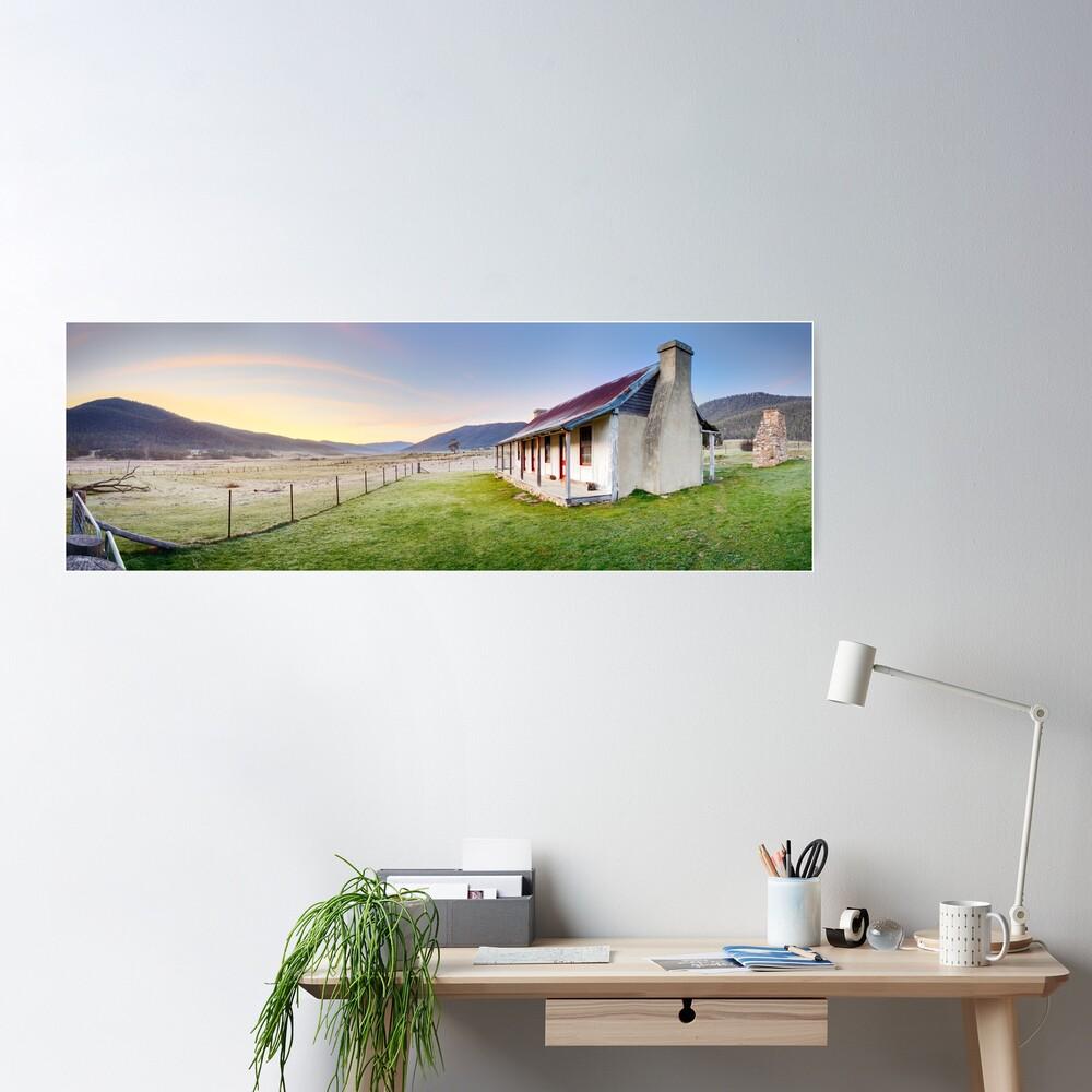 Orroral Homestead, Namadgi National Park, ACT, Australia Poster
