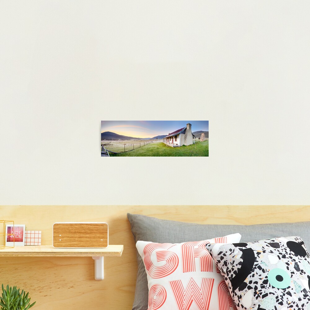 Orroral Homestead, Namadgi National Park, ACT, Australia Photographic Print