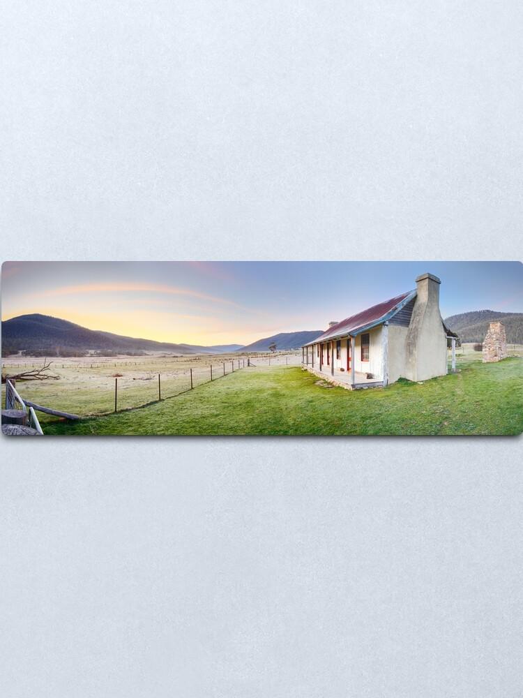 Alternate view of Orroral Homestead, Namadgi National Park, ACT, Australia Metal Print