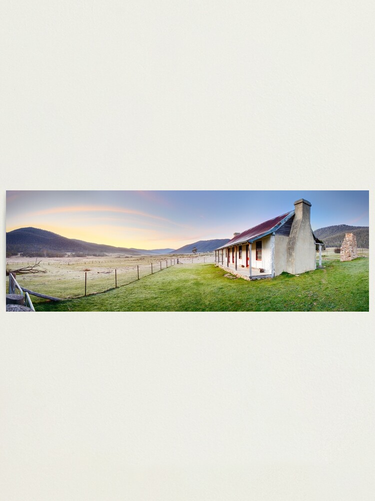 Alternate view of Orroral Homestead, Namadgi National Park, ACT, Australia Photographic Print