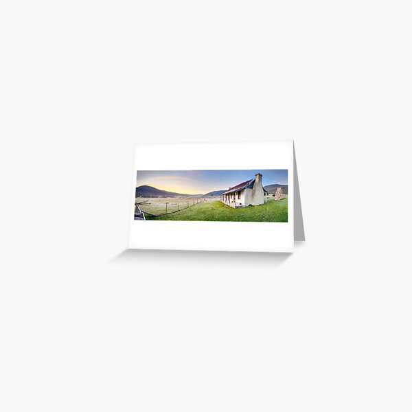 Orroral Homestead, Namadgi National Park, ACT, Australia Greeting Card