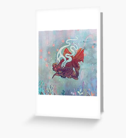 Ocean Jewel Greeting Card