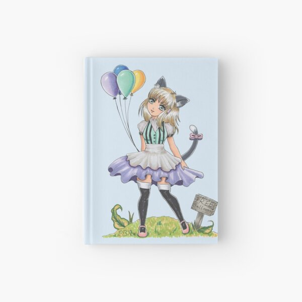 Free Balloons Hardcover Journal