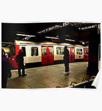 The Train Arrives - Metropolitan Line Poster