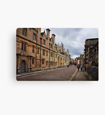 Merton College, Oxford Canvas Print