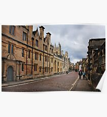 Merton College, Oxford Poster