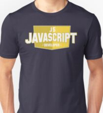 javascript developer T-Shirt