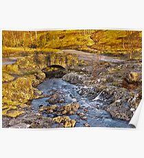 Ashness Bridge - Lake District Poster