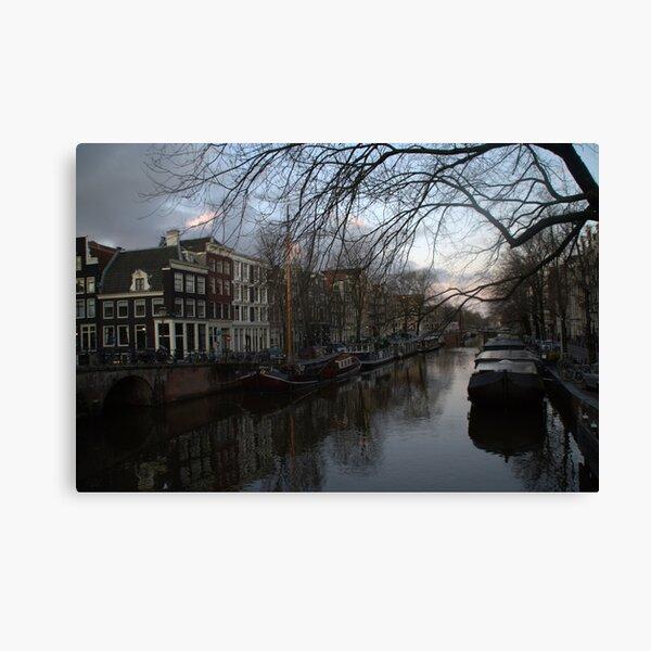 Brouwersgracht, Amsterdam Canvas Print
