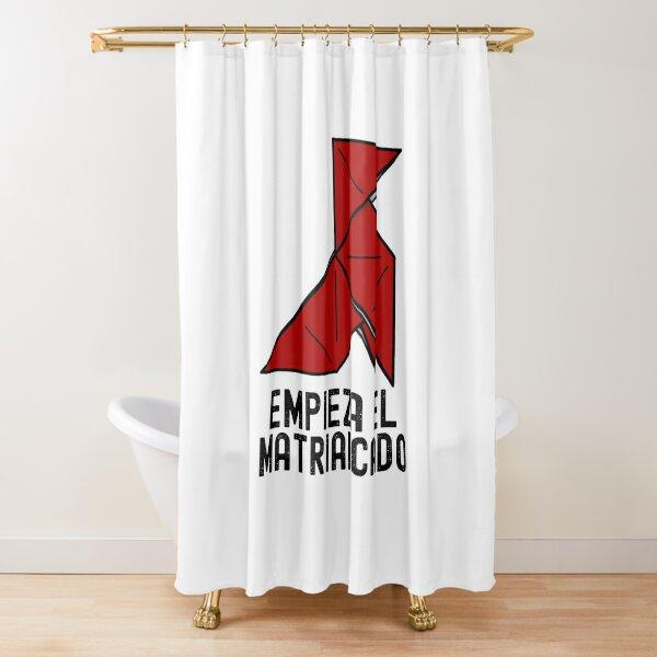 Money Heist La Casa de Papel Empieza El Matriarcado Shower Curtain