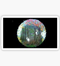 KOOKABURRA'S & AUSTRALIAN NATIVE FLOWERS ☮ Sticker