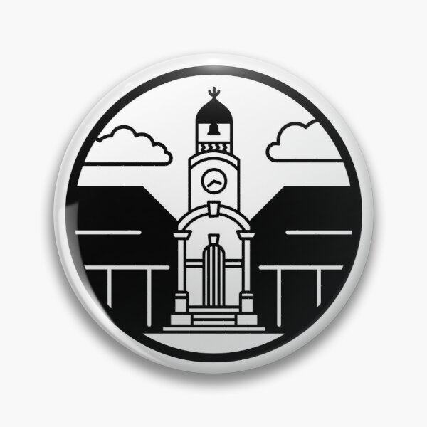 Tour Aotearoa - Hokitika Clocktower Icon Pin