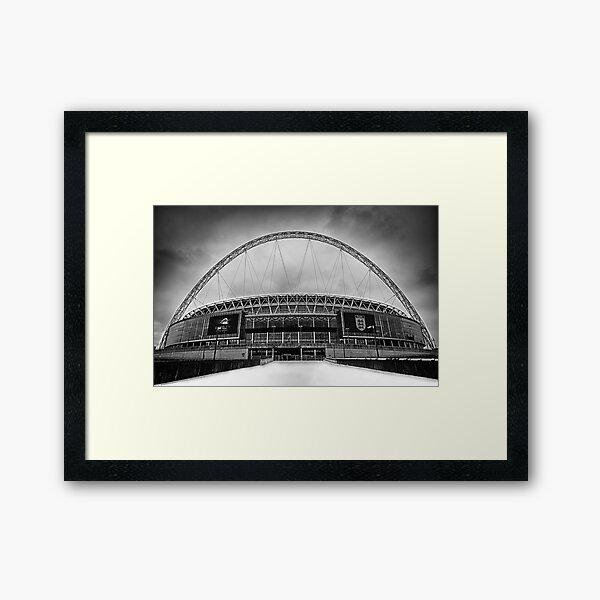 Wembley Stadium Framed Art Print