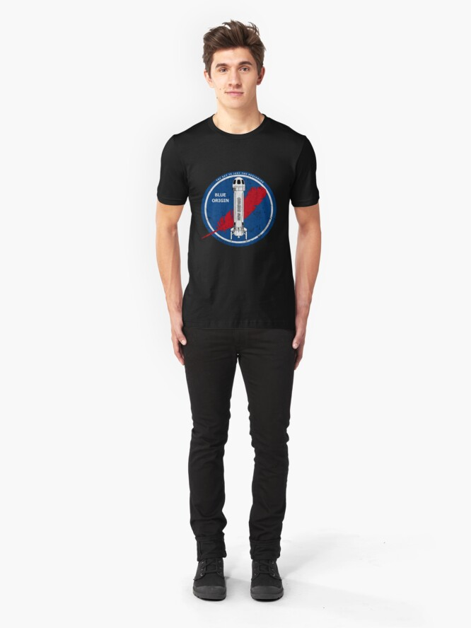 Alternate view of New Shepard. The Sky Is Just The Beginning Slim Fit T-Shirt