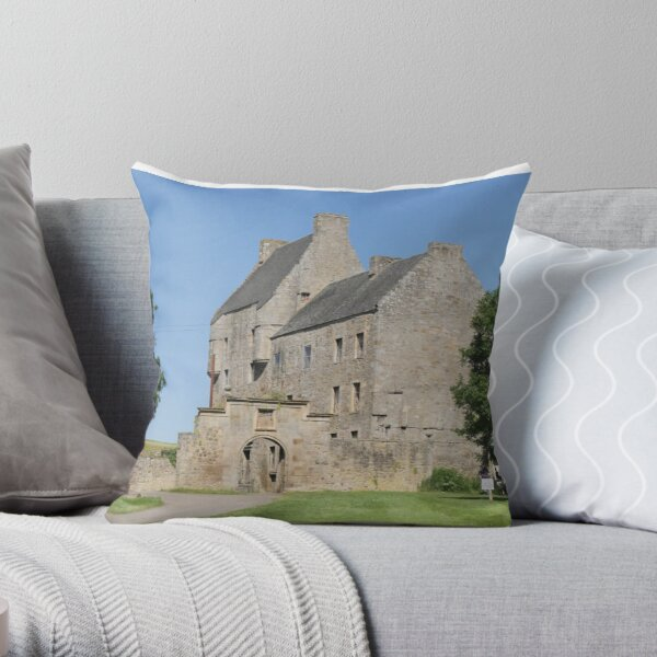 Midhope Castle , Hopetoun estate , near Edinburgh , Scotland Throw Pillow