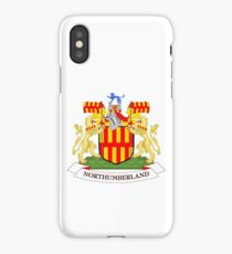 Northumberland coat of arms iPhone Case/Skin