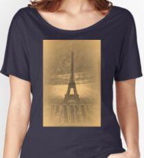 Vintage Eiffel Tower Paris #1 T-shirt Women's Relaxed Fit T-Shirt