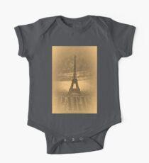 Vintage Eiffel Tower Paris #1 T-shirt One Piece - Short Sleeve