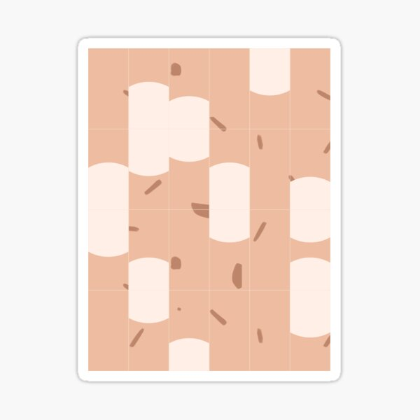 Earthy Tiles 03 Sticker