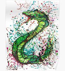 Mystical Snake Poster
