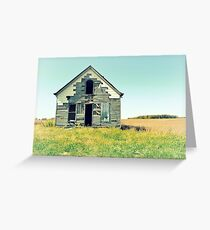 Abandonment Greeting Card